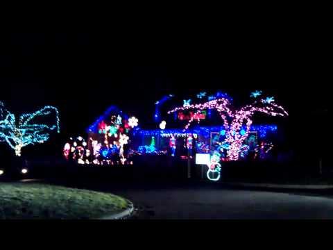 Amazing Wilmette Home Light Display