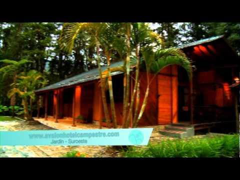 Avalon hotel campestre en jardin antioquia youtube for Antioquia jardin