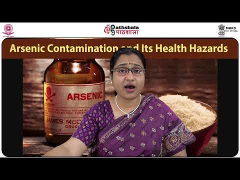 Arsenic contamination and its health hazards