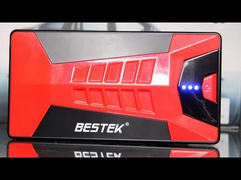 Bestek Multi Function Jump Starter Review