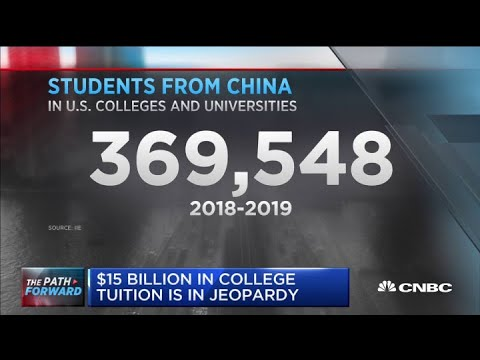 Chinese students balk at U.S. college enrollment for the fall