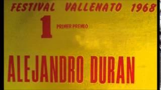 El martillo - Alejandro Durán - Festival Vallenato 1968