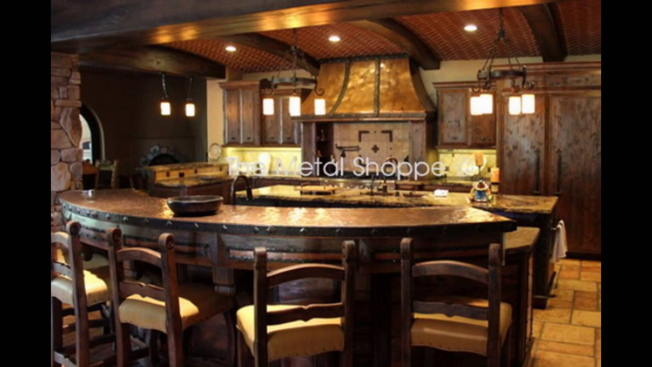 Used Copper Kitchen Island Vent Hoods