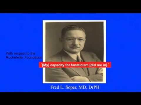 Frank Richards, ASTMH 2013, Fred L. Soper Lecture (audio + slides)