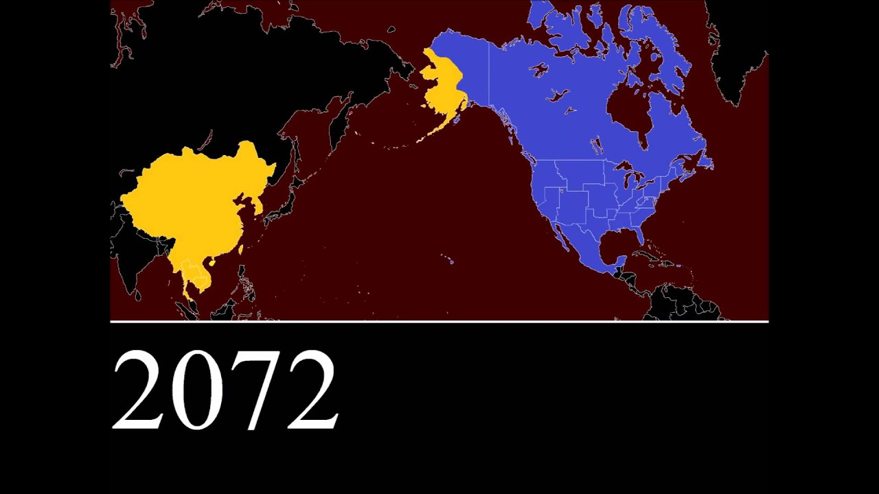 Fallout SinoAmerican War Every Year YouTube - Us nuclear war fallout map