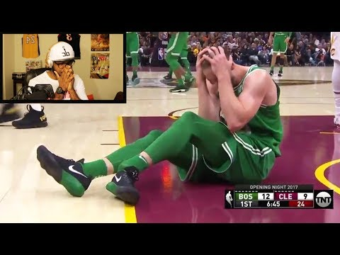 GORDON HAYWARD INJURY VIDEO! COULDN'T FINISH WATCHING! REACTION #PrayForGordonHayward