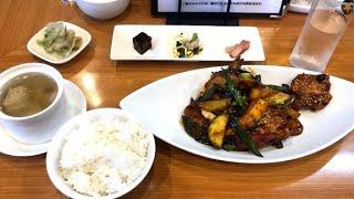 狛江市岩戸北 初夏野菜の回鍋肉1300円(胡桃)Twice-cooked meat