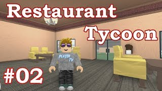 We hire a chef a ▶ Roblox Restaurant Tycoon - #02
