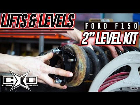 "Lifts & Levels: 09-17 Ford F150 2"" Level Kit Install"