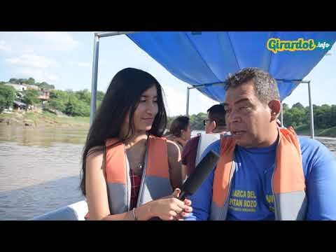 Recorrido por el río Magdalena en Girardot - Barca del Capitán Rozo