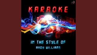 Dear Heart (In the Style of Andy Williams) (Karaoke Version)