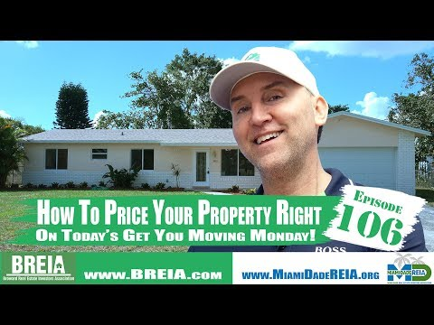 How To Price Your Property Right On Today's Get You Moving Monday With Ryan Kuhlman