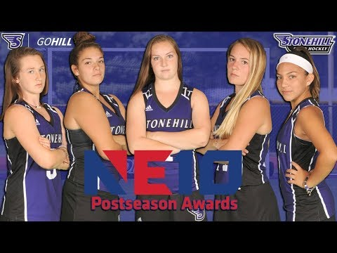 2017 Stonehill College Field Hockey NE10 All Conference