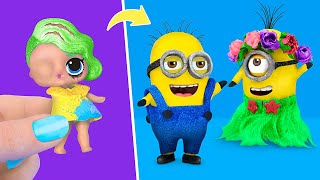 Never Too Old for Dolls! 10 Minions LOL Surprise DIYs