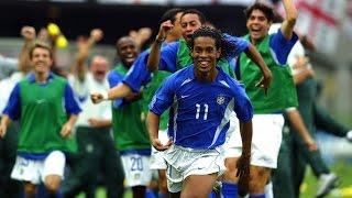 Gol de Ronaldinho Gaúcho - Copa de 2002   Brasil 2 x 1 Inglaterra