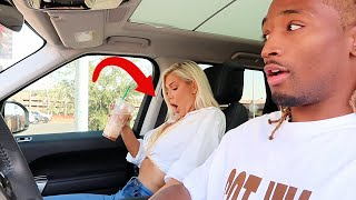 SLAMMING THE BRAKES PRANK ON GIRLFRIEND!!