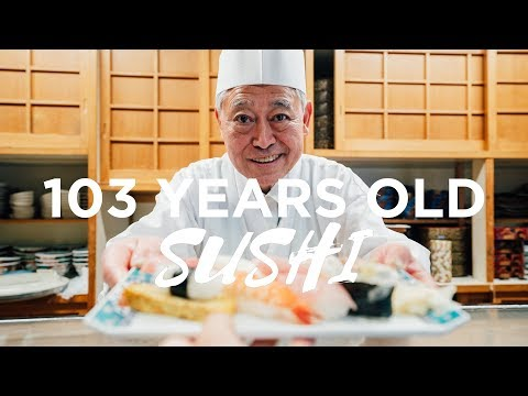 THE BEST SUSHI IN JAPAN - Hidden 100+ Year Old Sushi Shop
