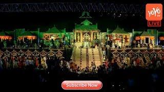 Ayyappa Swamy Maha Vaibhava Padi Pooja Live at NTR Stadium Hyderabad | Padipuja 108 | YOYOTV Channel