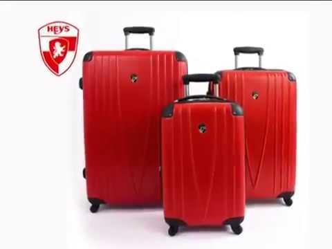 HEYS Luggage 4WD - 4 Wheel Drive Spinner Lightweight Luggage - YouTube