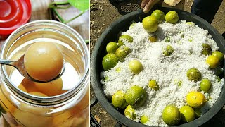 How to make Fermented Limes, new techniques and easy work at home