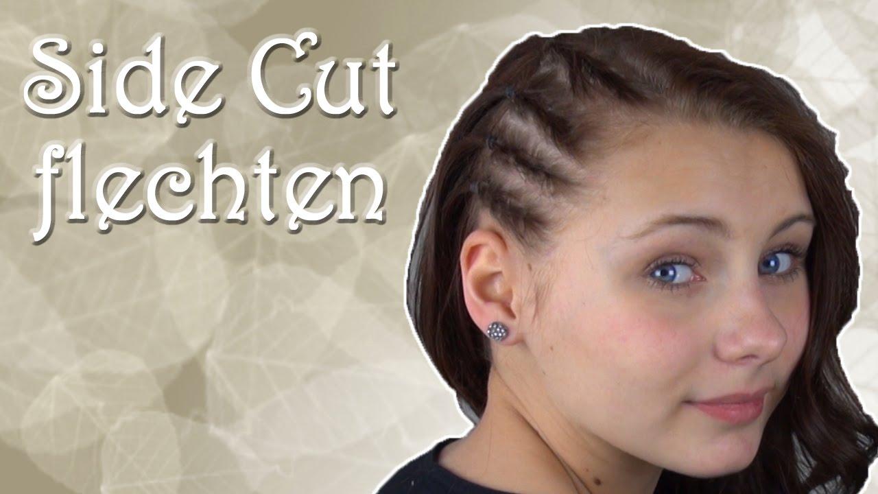 Gefälschten Side Cut Flechten Haareflechten Youtube