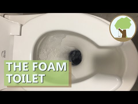 Composting Foam Toilet
