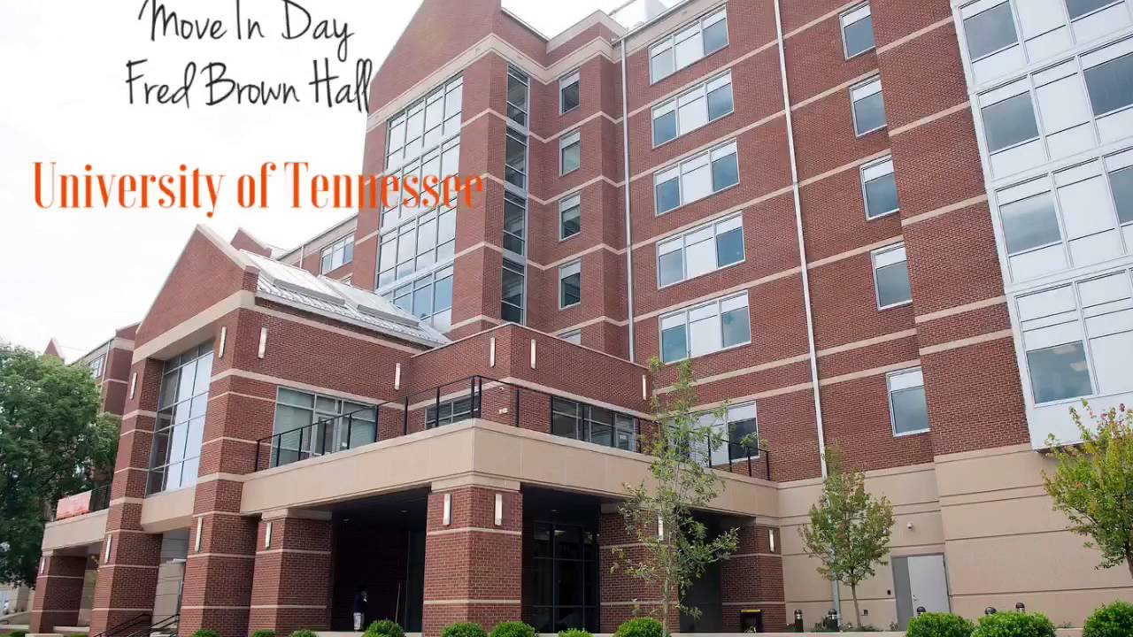 Fred Brown Hall UTK Move In Day 2016