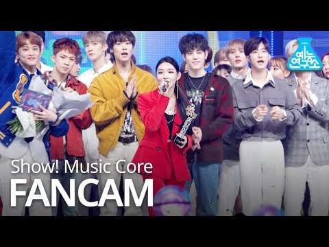 [예능연구소 직캠] CHUNGHA - Gotta Go, 청하 - 벌써 12시 No.1 encore ver. @Show Music core 20190112
