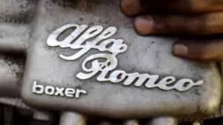 The Beautiful Sound Of An Alfa Romeo Boxer Engine..