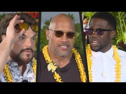 The Rock, Jack Black and Kevin Hart's Biggest Fear? (JUMANJI)