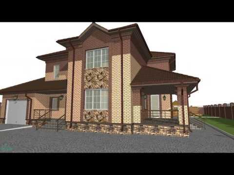 Проекты домов и коттеджей АТРИУМ. Купить проект дома в СПб