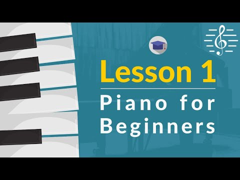 Play Piano - Lesson 1 (Hand Shape, Playing Position & the Keyboard)