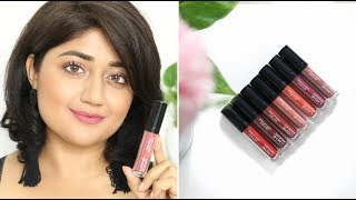 Lakme Absolute Matte Melt Lipcolor SWATCHES | corallista