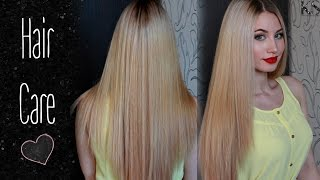 видео Правильный уход за светлыми окрашенными волосами