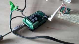 PIR sensor activated Halloween scare prank - Arduino