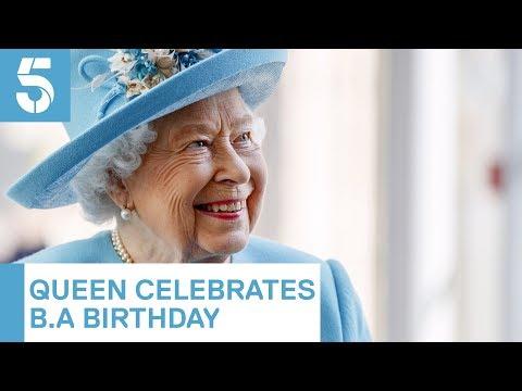 Queen Visits British Airways To Mark Centenary | 5 News