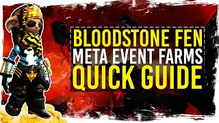 Guild Wars 2 - Quick Guide to Bloodstone Fen Farming / 1080p 50fps