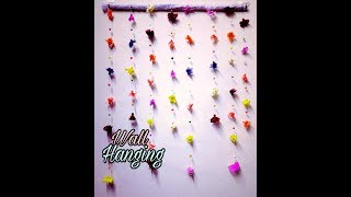 Recycle Waste Cloth Into Wall Hanging |waste Cloth Wall Hanging