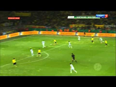 DFB Pokal: Borussia Dortmund 2-0 Wolfsburg (all goals - highlights - HD)
