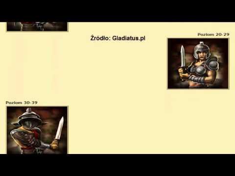 Gladiatus.pl - Wygląd wszystkich Gladiatorów