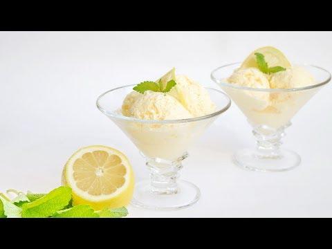 Домашнее ЛИМОННОЕ мороженое (без мороженицы). Очень вкусно и просто.