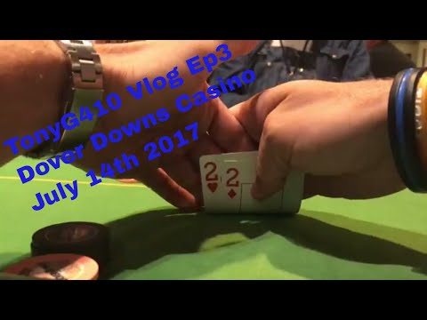 Poker VLog Ep3 going all in w/ Deuces @ Dover Downs Casino