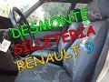 Como se Desmonta silleteria Renault 9.