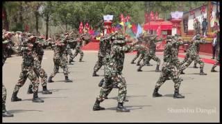 नेपाली सेनाको डरलाग्दो खुकुरी नाँच, A Khukuri Dance by Nepalese Army