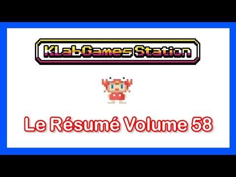 KLab Games Station : Le Résumé Volume 58