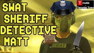 SWAT Sheriff Detective Matt | Trouble in Terrorist Town  (ASG CZ-P01 Shadow Gas Airsoft Pistol)