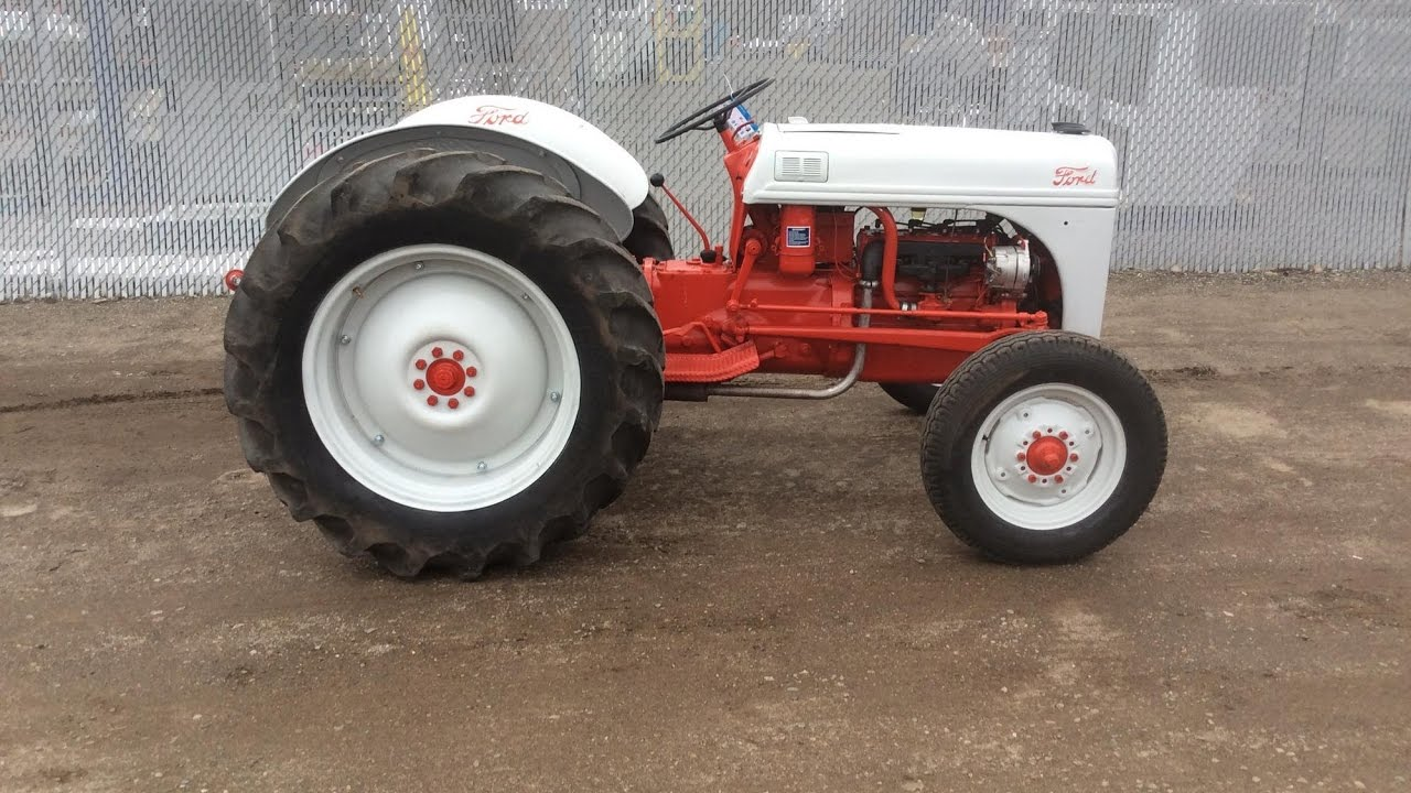 1949 Ford 8n Tractor For Sale Online Auction Youtube
