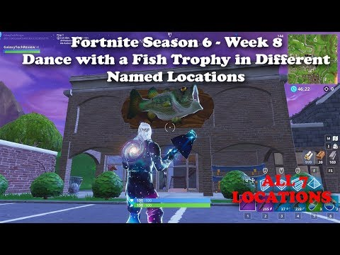 Fortnite Season 6 Week 8