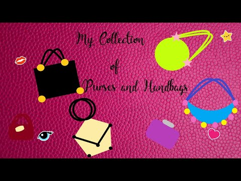 My Collection of Purses and Handbags   Different handbags that I Own   Must Have Handbags
