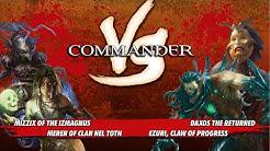 Commander Vs Special: Meren vs Mizzix vs Ezuri vs Daxos [MTG: Multiplayer]